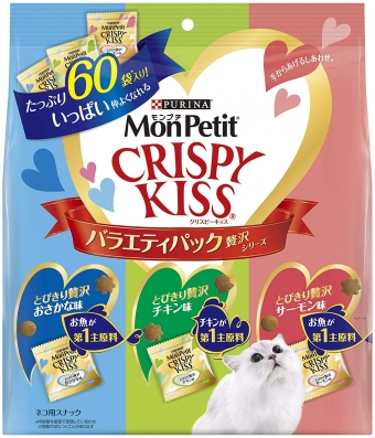 Monpetit Petit Crispy Kiss Variety Pack Luxury Series 180g