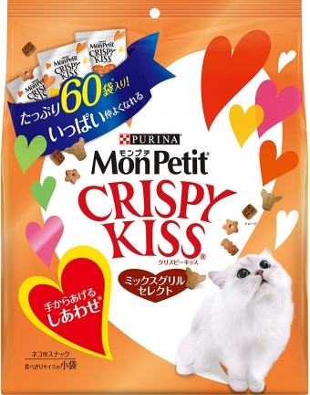 Mon Petit Crispy Kiss Mixed Grill Select 180g (3g x 60 bags)